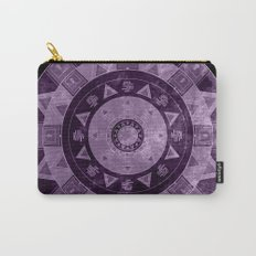 ethnic circle with watercolors Carry-All Pouch