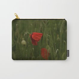 Red Poppies at Dusk Carry-All Pouch