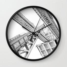 Tower Bridge 02C - Going Up Wall Clock