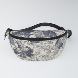 Telescopic Appearance of the Moon Fanny Pack