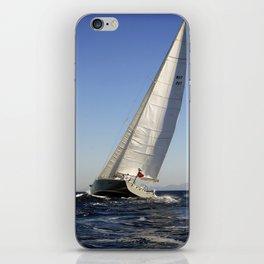 sail racer iPhone Skin