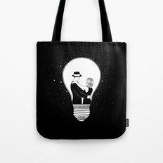 We light up the dark Tote Bag