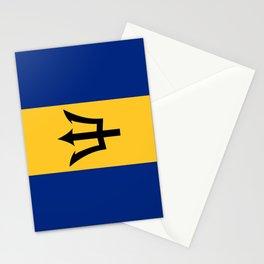 Flag Of Barbados Stationery Cards