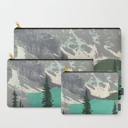 Moraine Lake Poster Carry-All Pouch