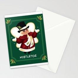 Christmas Mistletoe Stationery Cards
