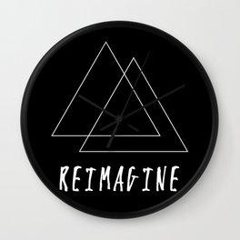Reimagine // Inverse Wall Clock
