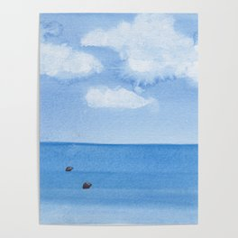 Two Seals Pop Up Poster