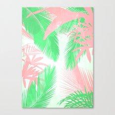 Tropical N Canvas Print