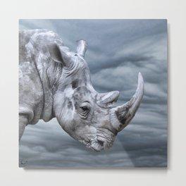 Thunder Rhino Metal Print