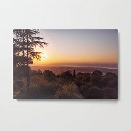 Sunset Over Istanbul #1 Metal Print