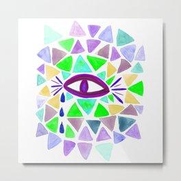 Crystaleyes 2 Metal Print