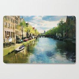 Amsterdam Waterways Cutting Board