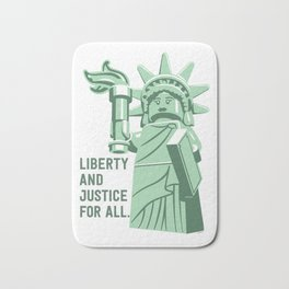 Liberty and Justice Bath Mat