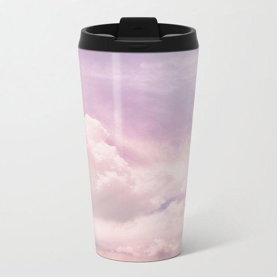 Upon The Clouds Metal Travel Mug