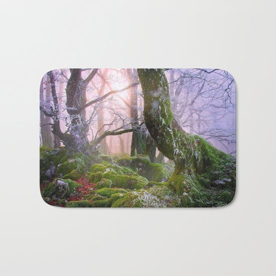 Fantasy Forest #frost Bath Mat