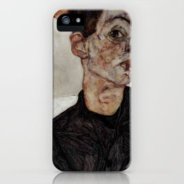 Egon Schiele , self-portrait iPhone Case