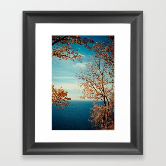 The View From the Top Framed Art Print