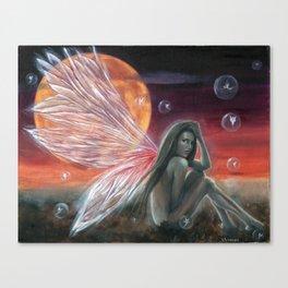 Fairy Bubbles Canvas Print