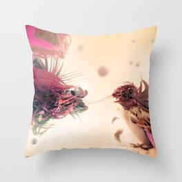 The Pathogen Throw Pillow