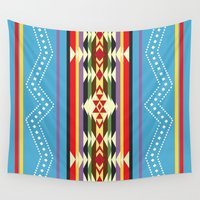 navajo Wall Tapestries featuring Navajo Pattern Design 2 by Gary Grayson