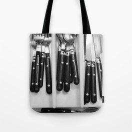 Silverware. Tote Bag