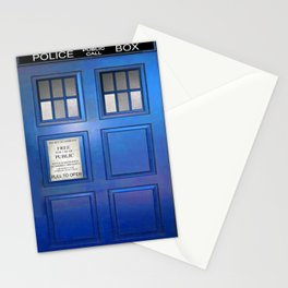 doctor who public box  Stationery Cards