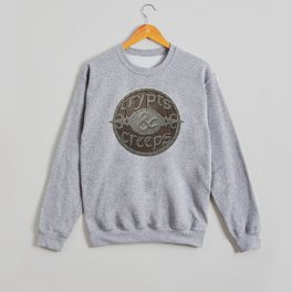 Crypts And Creeps Logo Crewneck Sweatshirt