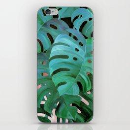 Monstera Love iPhone Skin