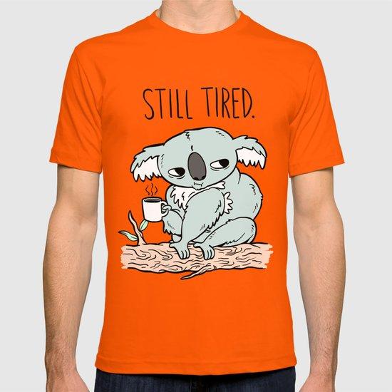 Tired Koala T-shirt by beeisforbear | Society6
