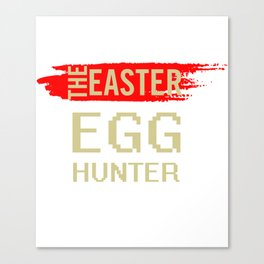 The Easter Egg Hunter Canvas Print