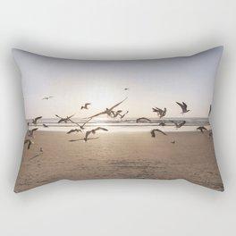 Birds in Flight Rectangular Pillow