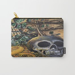 Time Is Money Carry-All Pouch