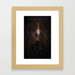 Portrait of a Demon Framed Art Print