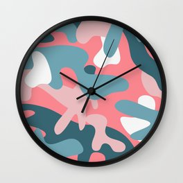 Camouflage 05 Wall Clock