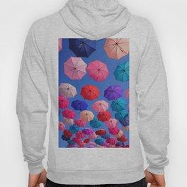 Colorful umbrellas Hoody