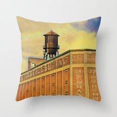Montreal factory Throw Pillow