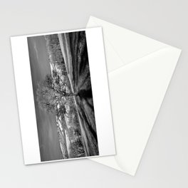 Lone tree over the East Somerset Railway Stationery Cards