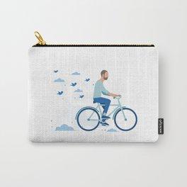 bird man bike Carry-All Pouch