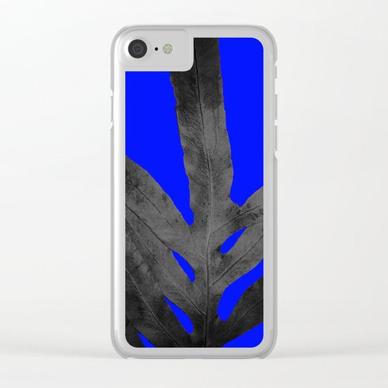 Cooler Nights, October Fern Clear iPhone Case