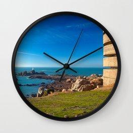 Jersey Coastal Scenery Wall Clock