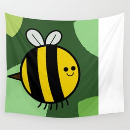 Cutesy Crawlies — Bumblebee Wall Tapestry