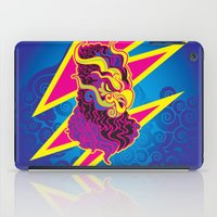 storm iPad Cases featuring Storm by HanYong