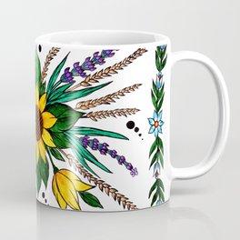 Zalipie Flowers Coffee Mug