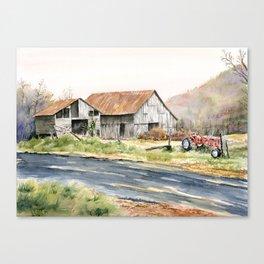 Kentucky Tobacco Barn Canvas Print