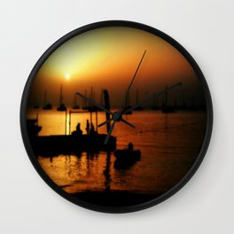 A days end Wall Clock