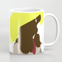 himym Mugs featuring The Mother - HIMYM by vulpineCyanide