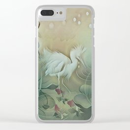Haven of Solitude Clear iPhone Case