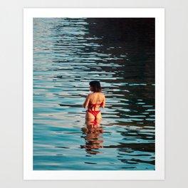 Costa Brava Summer Art Print