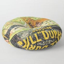 Bull Durham Floor Pillow