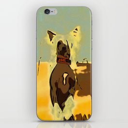 Chinese crested 4 iPhone Skin